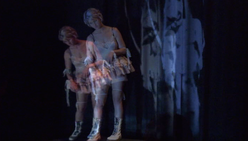 Marionette with film projection, and original music box composition, SCU, Lismore, Australia