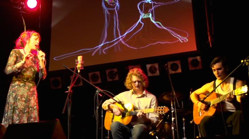 Original song with live animation, SCU Lismore, NSW Australia.